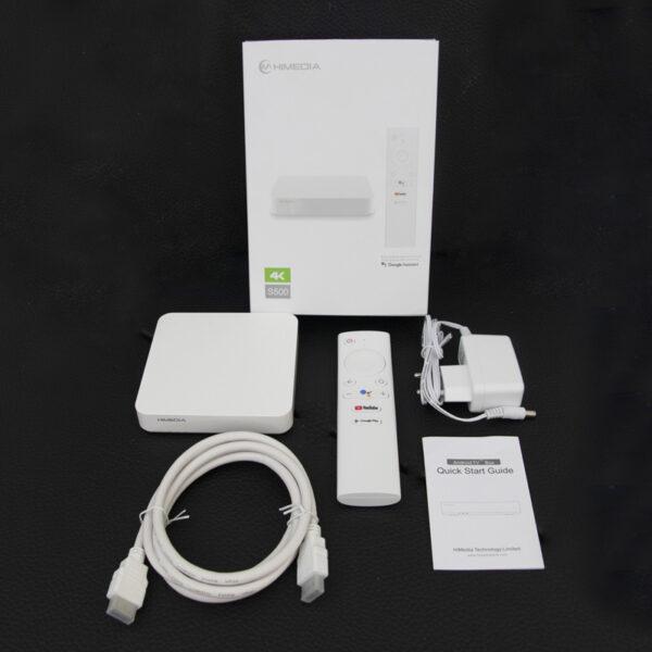 himedia s500 android tv điều khiển giọng nói - trọn bộ sản phẩm