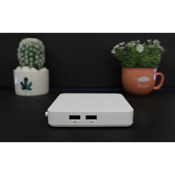 himedia s500 android tv điều khiển giọng nói - cổng kết nối cạnh bên