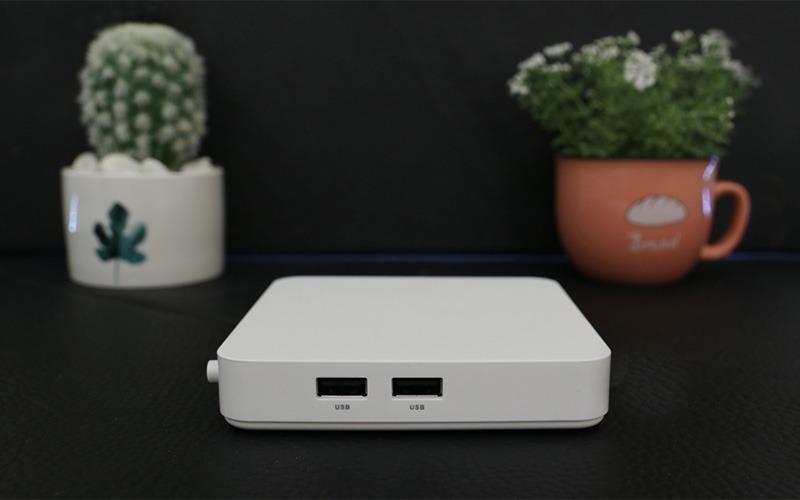 himedia s500 android tv điều khiển tìm kiếm bằng giọng nói tiếng việt - cạnh bên