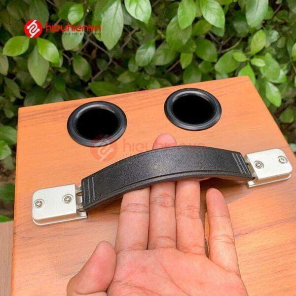 loa kéo jbz j6 - loa karaoke di động kèm 2 micro không dây - hình 04