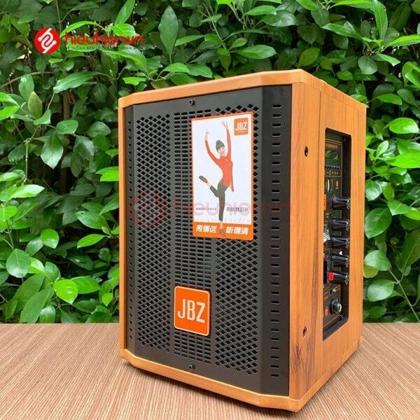 loa kéo jbz j6 - loa karaoke di động kèm 2 micro không dây - hình 08