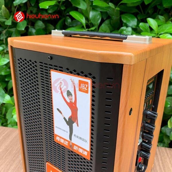 loa kéo jbz j6 - loa karaoke di động kèm 2 micro không dây - hình 09
