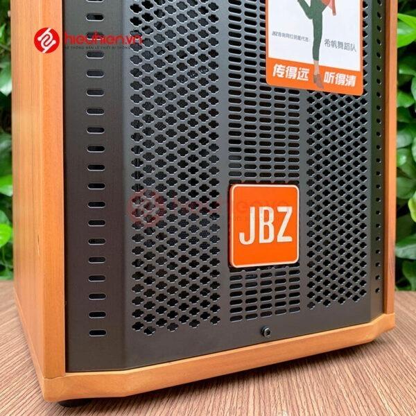 loa kéo jbz j6 - loa karaoke di động kèm 2 micro không dây - hình 10