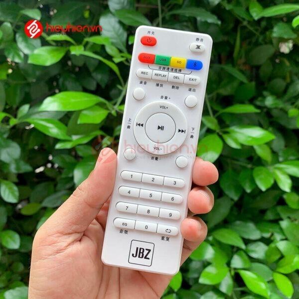 loa kéo jbz j6 - loa karaoke di động kèm 2 micro không dây - hình 12