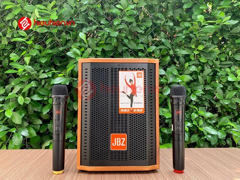 loa kéo jbz j6 - loa karaoke di động kèm 2 micro không dây - hình 14
