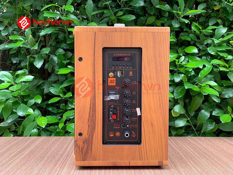 loa kéo jbz j6 - loa karaoke di động kèm 2 micro không dây - hình 16