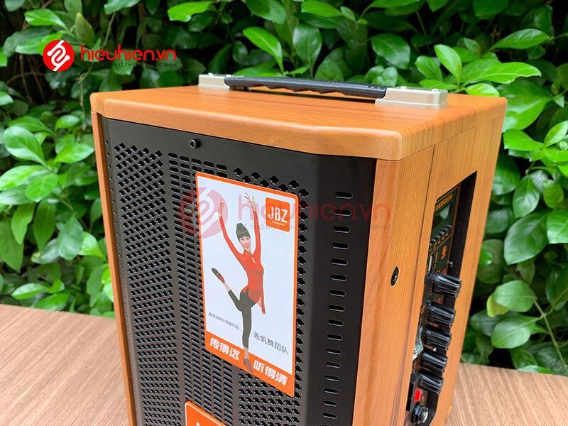 loa kéo jbz j6 - loa karaoke di động kèm 2 micro không dây - hình 17