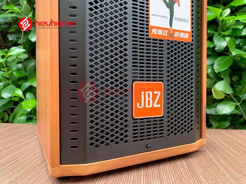loa kéo jbz j6 - loa karaoke di động kèm 2 micro không dây - hình 18