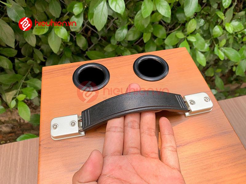 loa kéo jbz j6 - loa karaoke di động kèm 2 micro không dây - hình 20