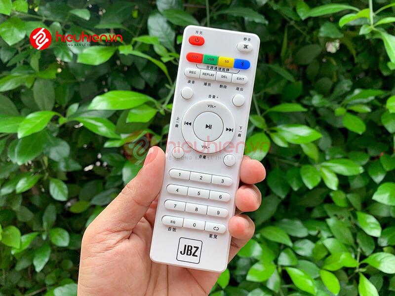 loa kéo jbz j6 - loa karaoke di động kèm 2 micro không dây - hình 22