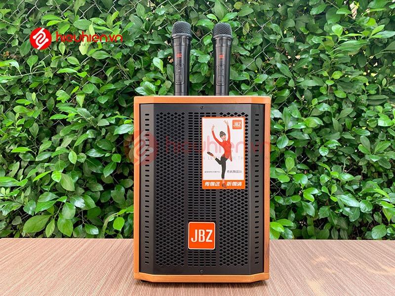 loa kéo jbz j6 - loa karaoke di động kèm 2 micro không dây - hình 24
