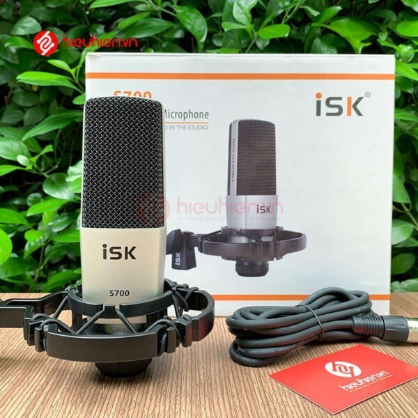 micro thu âm isk s700 mic hát livestream hát karaoke cao cấp - hình 09