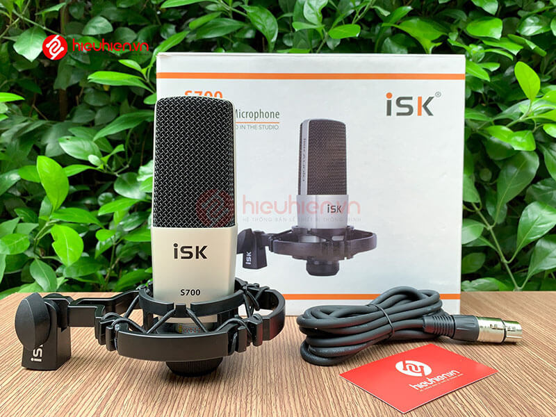 micro thu âm isk s700 mic hát livestream hát karaoke cao cấp - hình 10