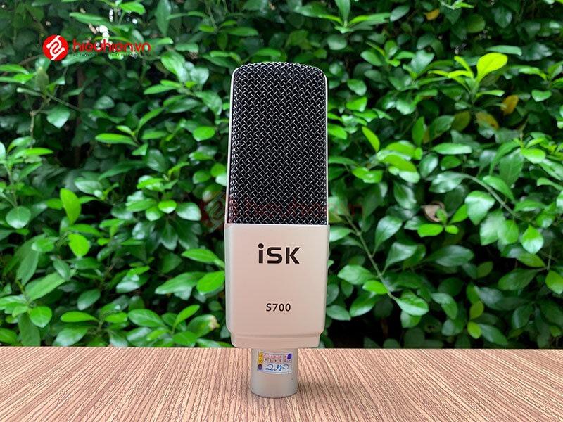micro thu âm isk s700 mic hát livestream hát karaoke cao cấp - hình 11