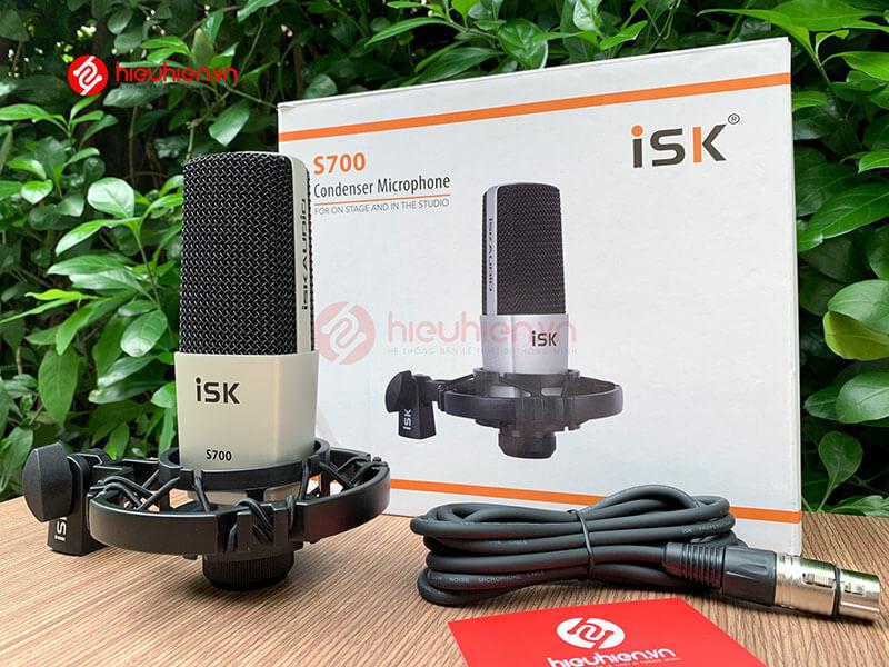 micro thu âm isk s700 mic hát livestream hát karaoke cao cấp - hình 22