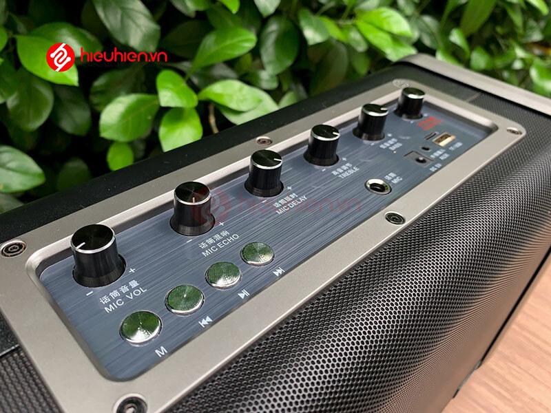 shengyou a7 - loa karaoke di động kèm 2 micro không dây - hình 17