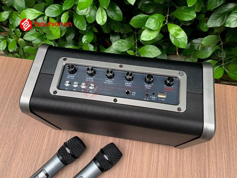 shengyou a7 - loa karaoke di động kèm 2 micro không dây - hình 18