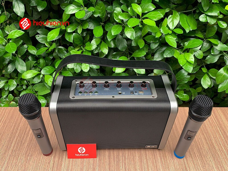 shengyou a7 - loa karaoke di động kèm 2 micro không dây - hình 21