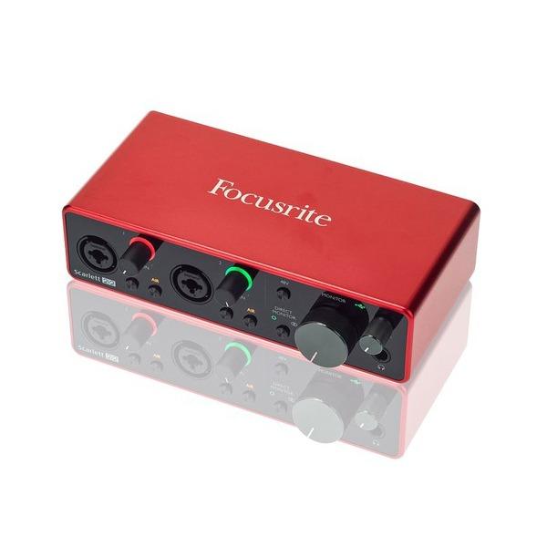 sound card thu âm chuyên nghiệp focusrite scarlett 2i2 - hình 0
