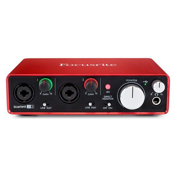 sound card thu âm chuyên nghiệp focusrite scarlett 2i2 - hình 01