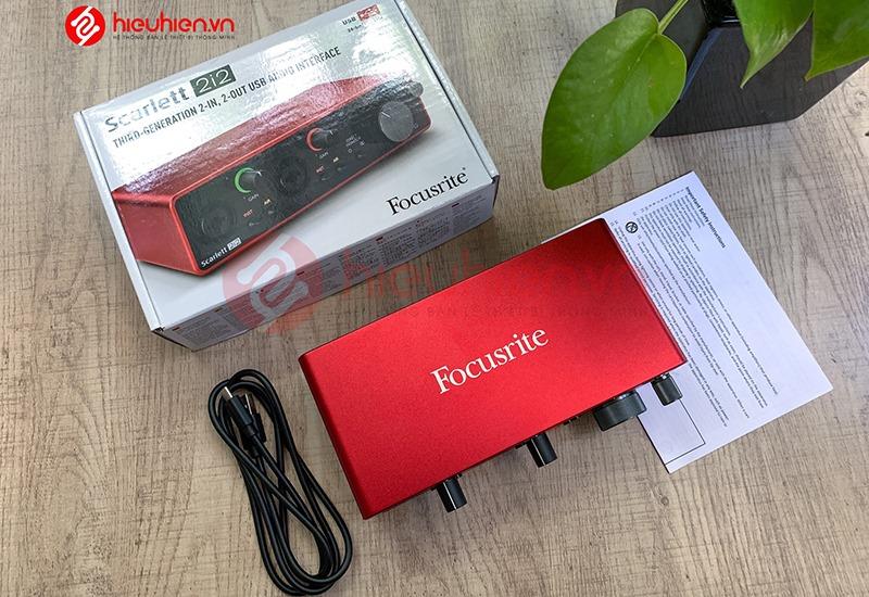 sound card thu âm chuyên nghiệp focusrite scarlett 2i2 - hình 10