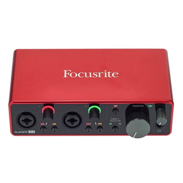 sound card thu âm chuyên nghiệp focusrite scarlett 2i2
