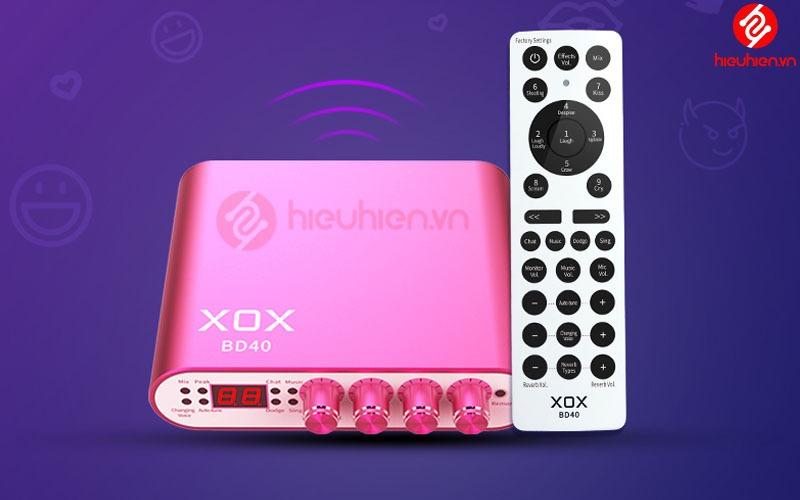 remote sound card xox bd40