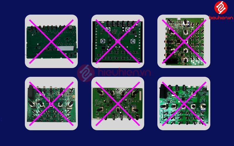 mainboard của các dòng sound card giá rẻ