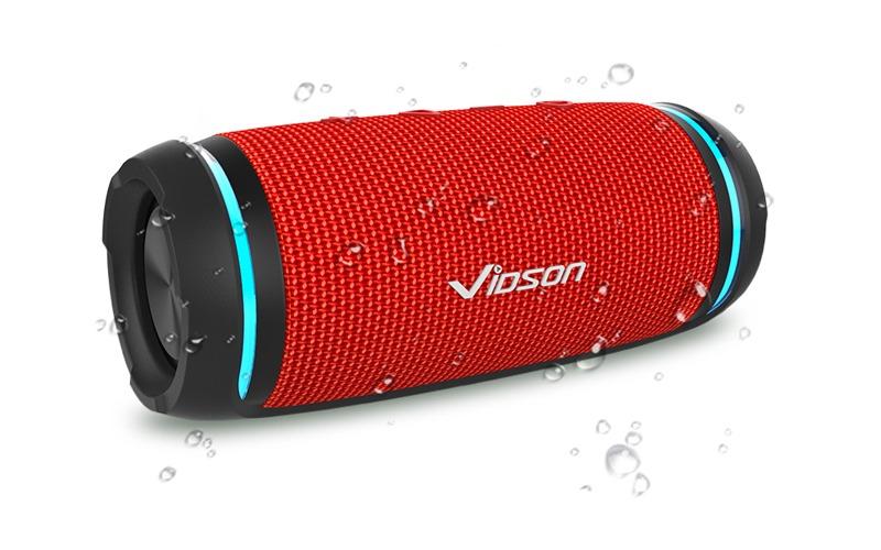 vidsion d3 mini - loa bluetooth nghe nhạc công suất 20w - mặt trước