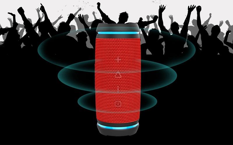 vidsion d3 mini - loa bluetooth nghe nhạc công suất 20w - âm thanh 360 độ