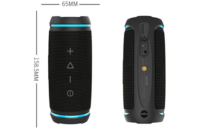 vidsion d3 mini - loa bluetooth nghe nhạc công suất 20w - kích thước loa