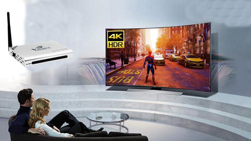 vinabox x6 pro ram 2gb android tv box giá rẻ - xem phim 4k