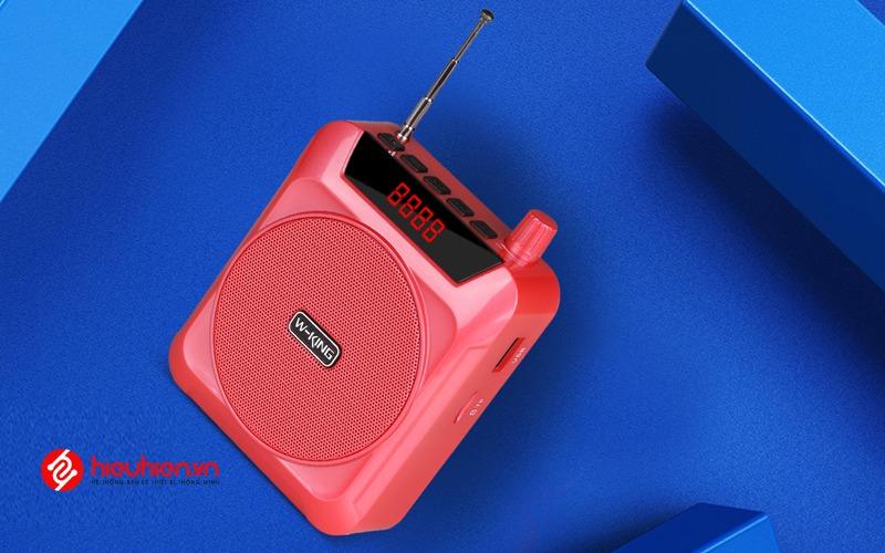 w-king ks12 - loa trợ giảng công suất 5w - màu hồng