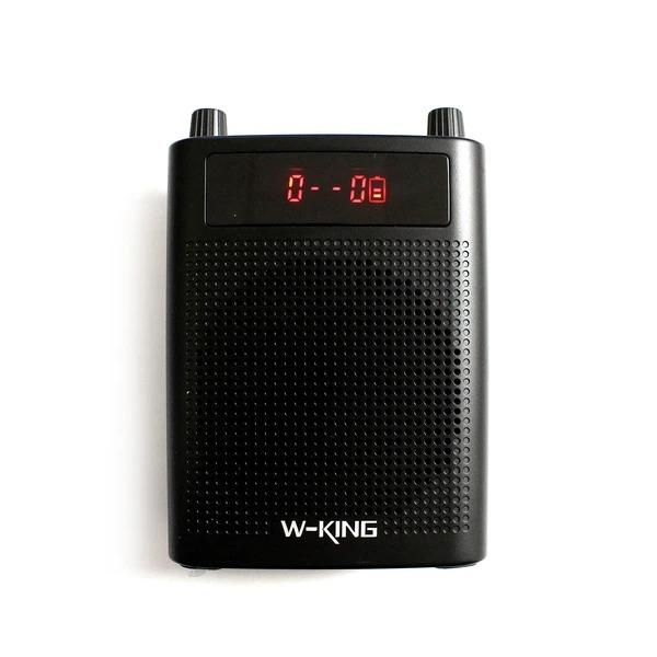 w-king ks15 - loa trợ giảng bluetooth công suất 5w - mặt trước