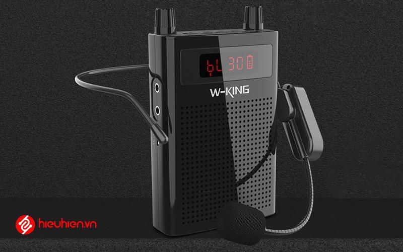 w-king ks15 - loa trợ giảng bluetooth công suất 5w - kèm micro đeo tai