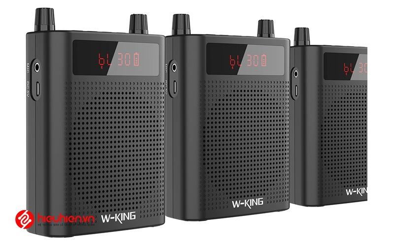 w-king ks15 - loa trợ giảng bluetooth công suất 5w - thiết kế loa