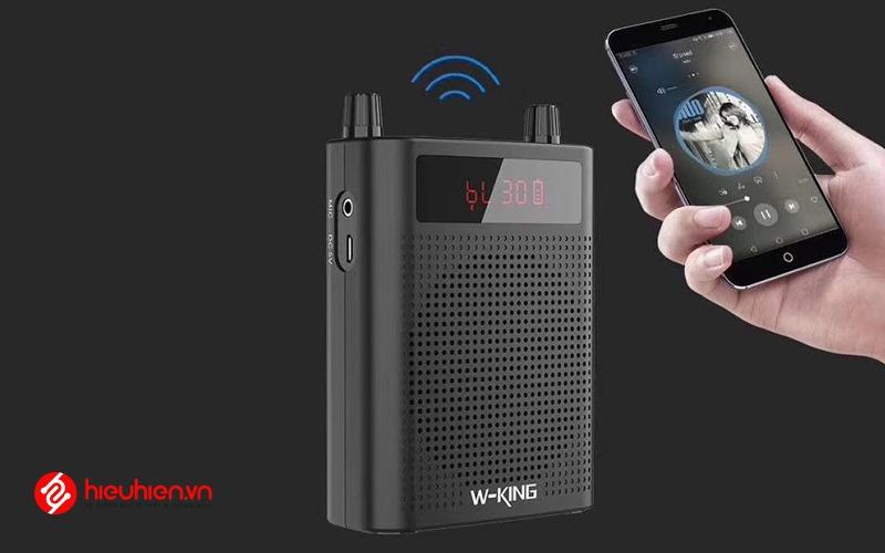 w-king ks15 - loa trợ giảng bluetooth công suất 5w - kết nối bluetooth