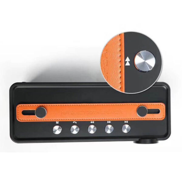loa bluetooth w-king x10 công suất 25w, âm bass cực hay - phím chức năng