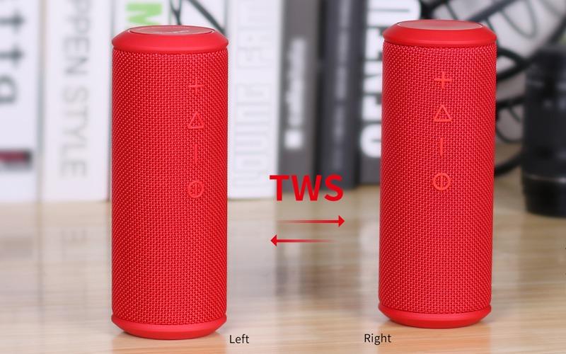 w-king x6s loa bluetooth nghe nhạc công suất 20w - kết nối 2 loa tws
