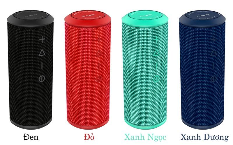 w-king x6s loa bluetooth nghe nhạc công suất 20w - 4 màu sắc sặc sỡ