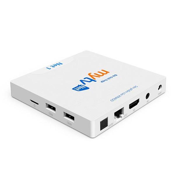 android tv box mytv net 1, phiên bản ram 2gb - truyền hình bản quyền - các cổng kết nối