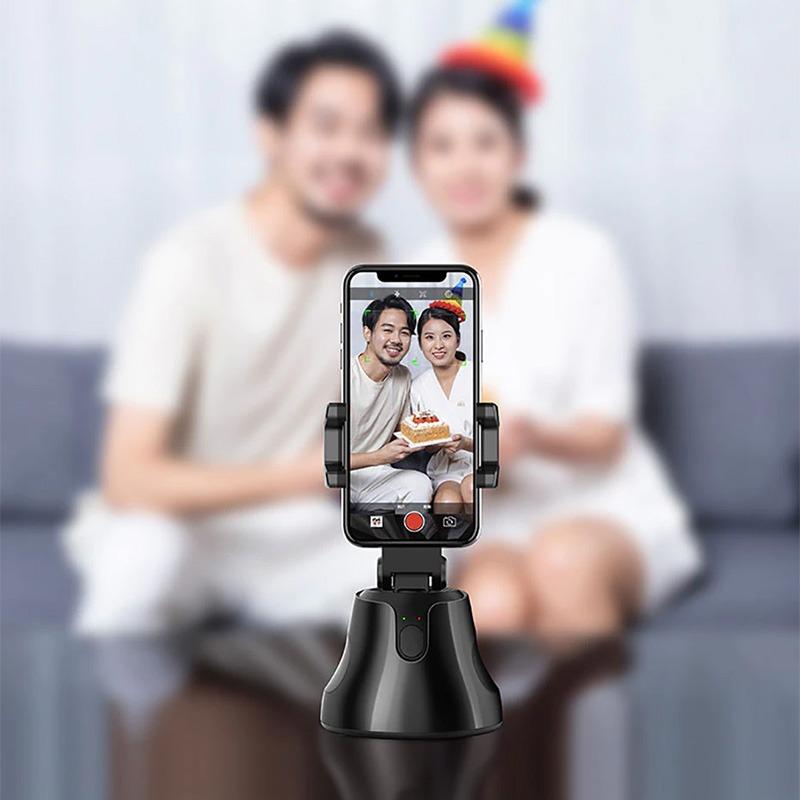 giá đỡ điện thoại xoay tự động 360 độ apai genie