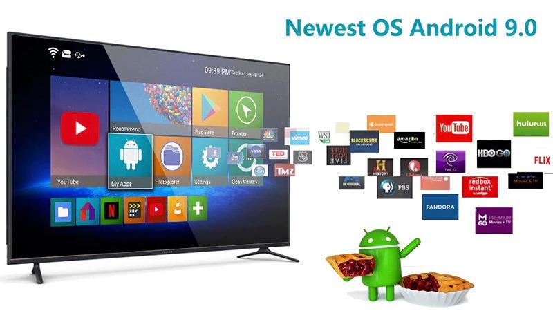 android tv box hk1 lite giá rẻ ram 2gb, rom 16gb, chạy android 9.0 - hình 6