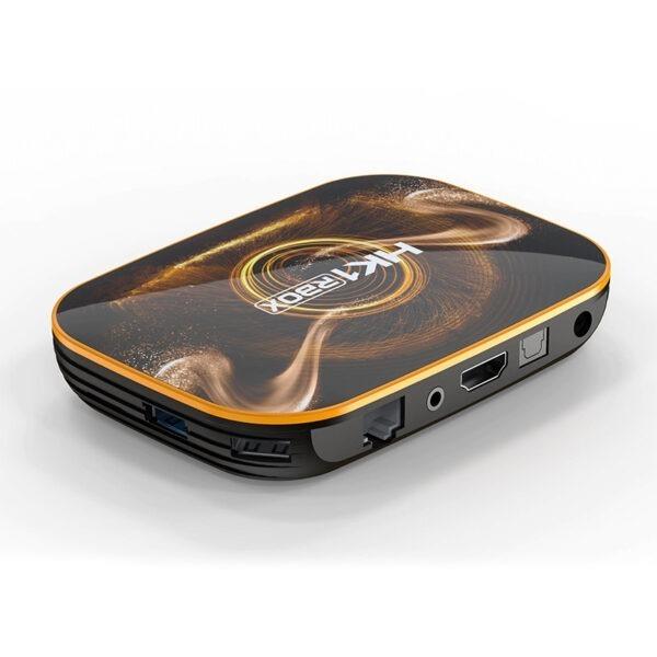android tv box hk1 rbox ram 2gb giá rẻ, android 10 mới nhất 2020 - mặt sau
