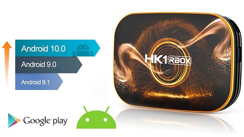android tv box hk1 rbox ram 2gb giá rẻ, chạy android 10 mới nhất 2020