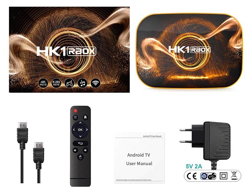 android tv box hk1 rbox ram 2gb giá rẻ, android 10 mới nhất 2020 - trọn bộ sản phẩm