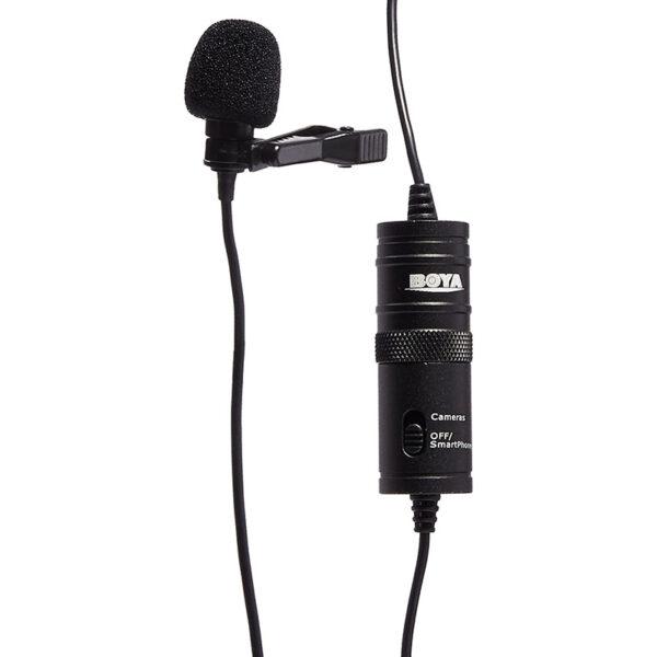 micro cài áo boya by-m1 - mic thu âm cho điện thoại và máy ảnh, máy quay giá rẻ