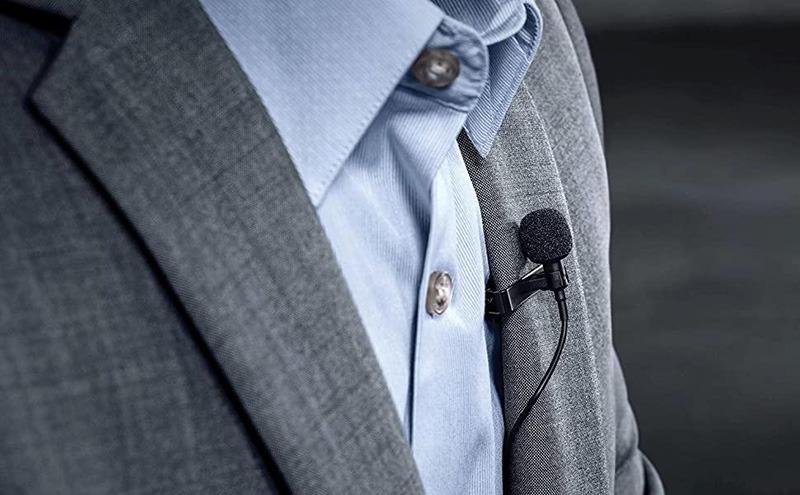 micro cài áo boya by-m1 - mic thu âm cho điện thoại và máy ảnh, máy quay - thuyết trình