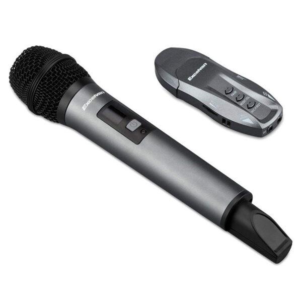 micro karaoke không dây excelvan k18v - hát nhạy, chống hú tốt