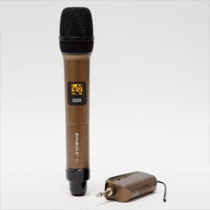 micro không dây shubole k5 dùng cho loa kẹo kéo di động, amply hát karaoke